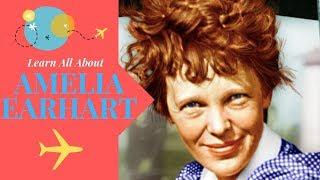 Amelia Earhart For Kids| Amelia Earhart Biography | Women's History Month